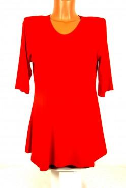 Červená prodloužená tunika