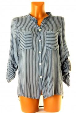 Košilový top s proužkem