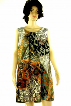Šaty se vzorem