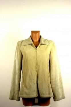 Semišová bunda na zip vel: L