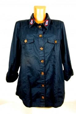 Tmavě modrá košile ATMOSPHERE vel: UK18/L