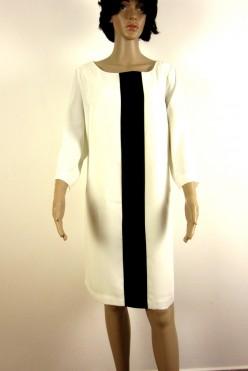 Nové smetanové šaty s podšívkou SOUTH vel:L/XL