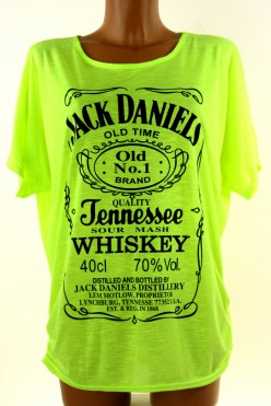 Trendy tričko s nápisem