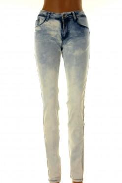 Světle šisované džíny